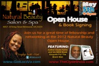 Book Signing: Natural Beauty Salon & Spa May 5th