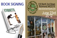 Book Signing: Box Brown Imports,LLC